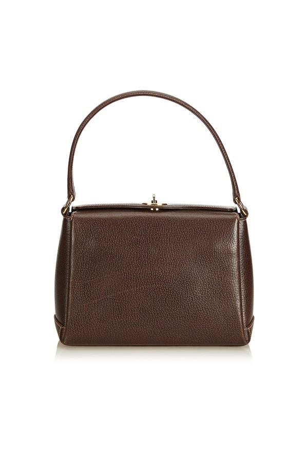 03bd46f9679 Leather Handbag by Vintage Gucci at ORCHARD MILE