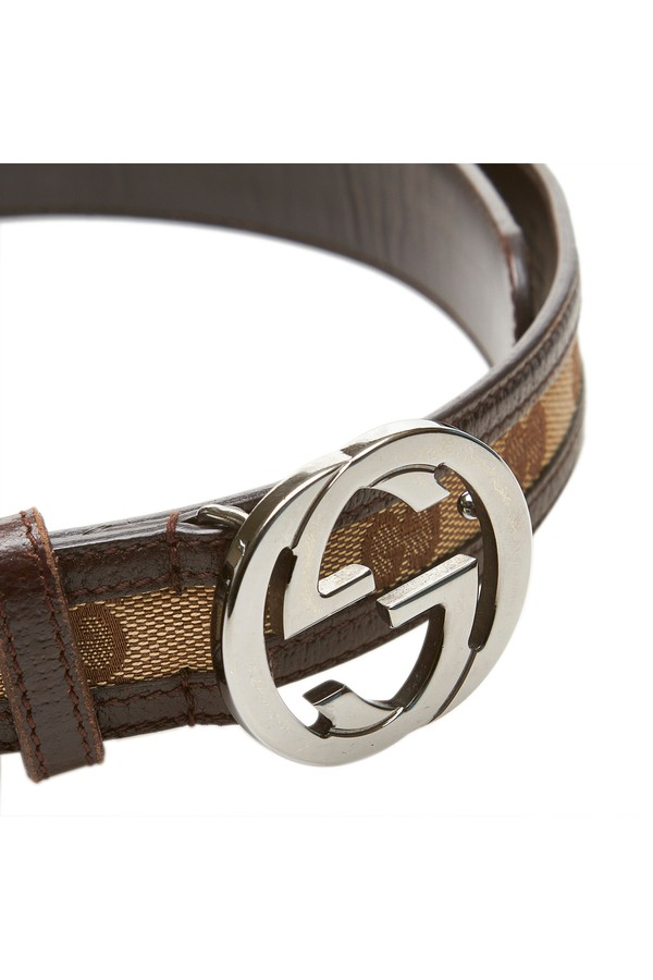 d41fd4e6d67 Double G Jacquard Belt by Vintage Gucci at ORCHARD MILE