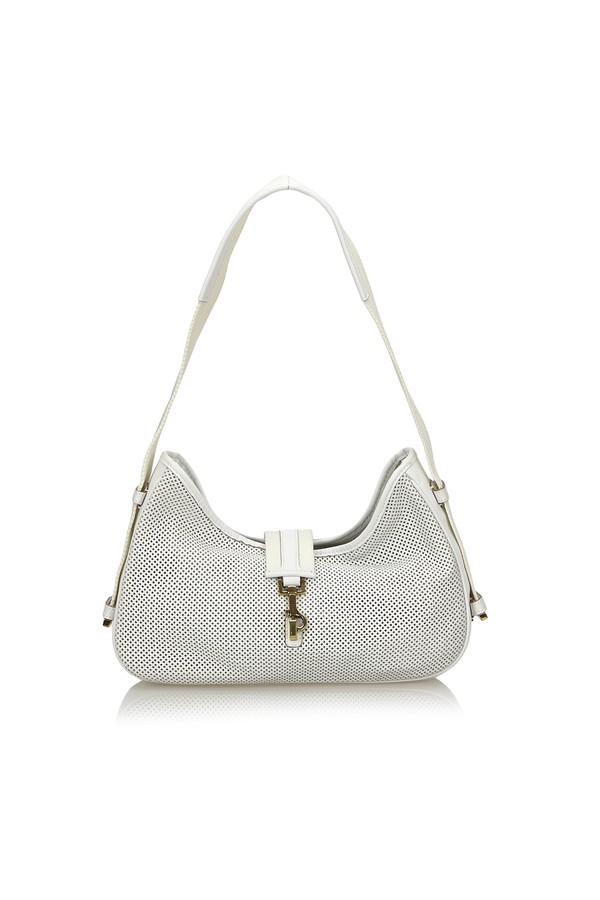 40daa9ff709ef1 Perforated Jackie Shoulder Bag by Vintage Gucci at ORCHARD MILE