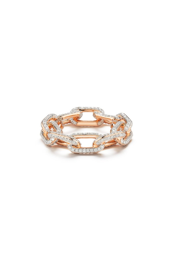 Walters Faith Saxon 18K Chain Link Ring CBU8T