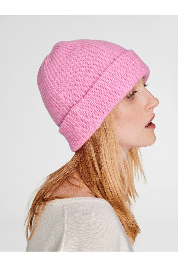 82d32a40216 Cashmere Plush Rib Beanie by White + Warren at ORCHARD MILE