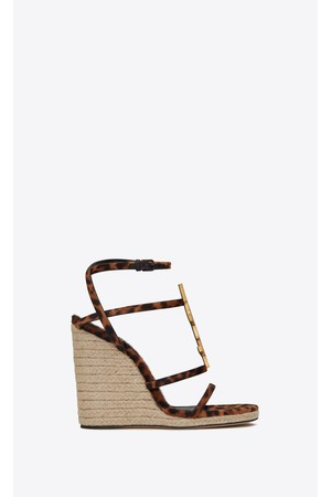 580aac075e Shop Shoes / Sandals from Saint Laurent at ORCHARD MILE with free...