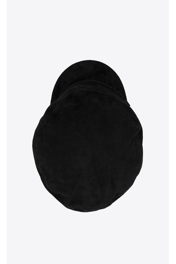 e8027cbb5 Sailor Cap In Suede by Saint Laurent at ORCHARD MILE
