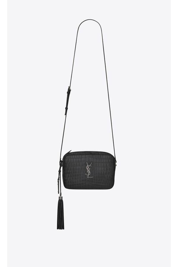 2aa73002f4 Lou Camera Bag In Crocodile Embossed Leather