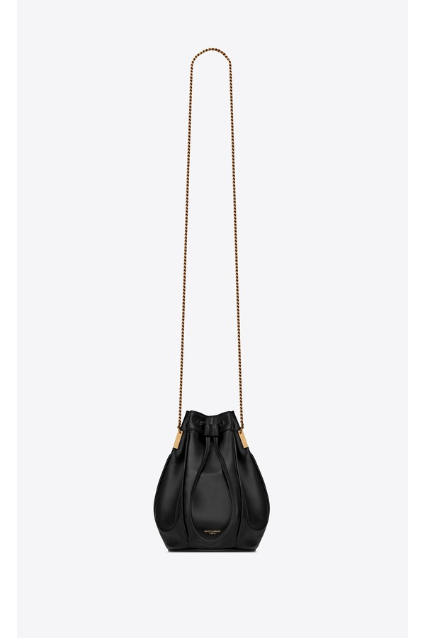 Talitha Small Bucket Bag In Smooth Leather by Saint Laurent at... f55261045b5ad