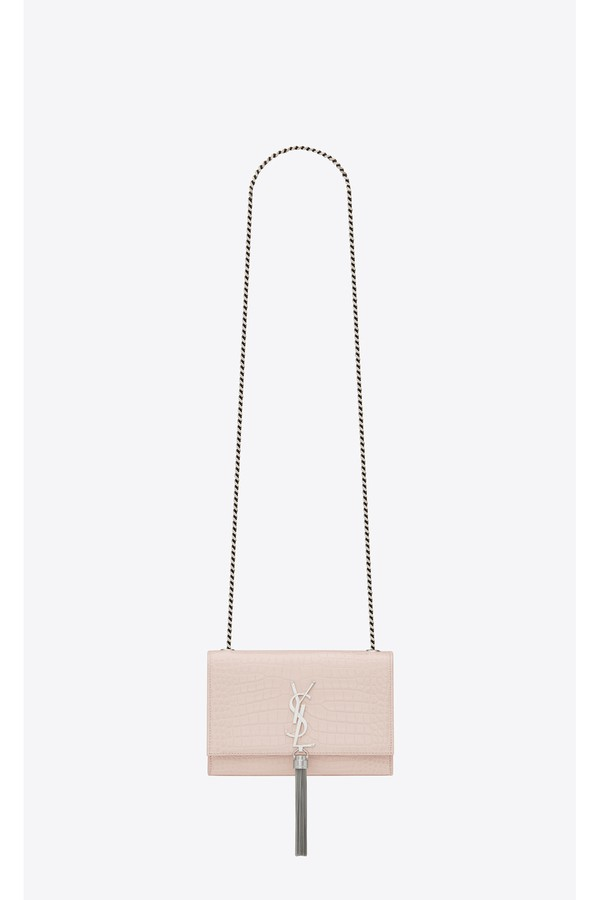 b8a5dcb6084c5 Kate Small With Tassel In Embossed Crocodile Shiny Leather by...