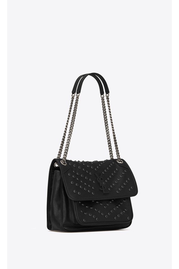84c810934c5f Niki Medium In Vintage Leather All Over Studs by Saint Laurent at...