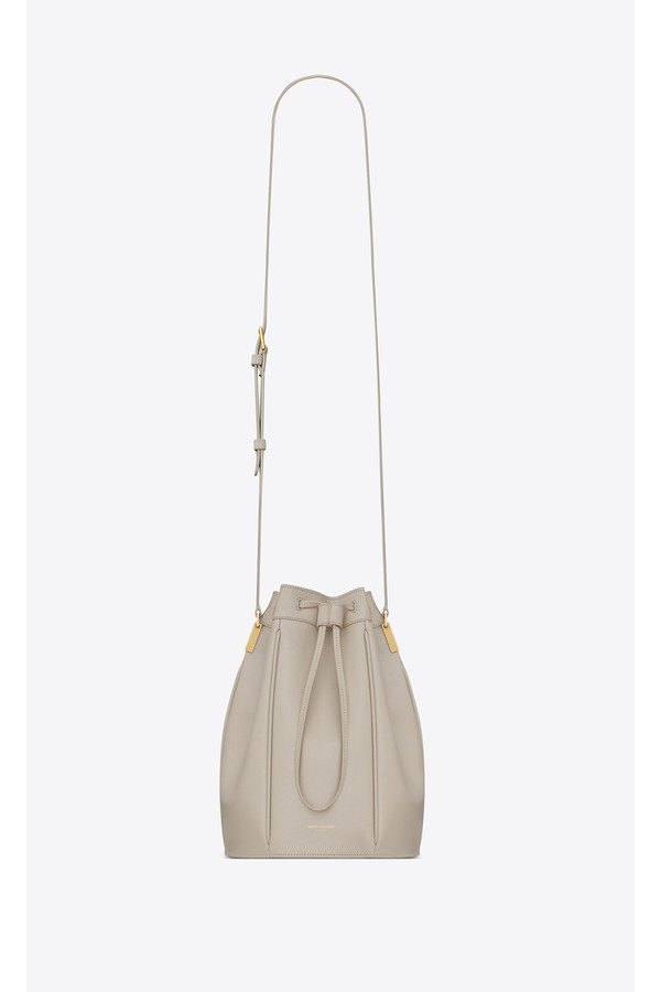 Talitha Medium Bucket Bag In Smooth Leather by Saint Laurent at... 295f6fa230de6
