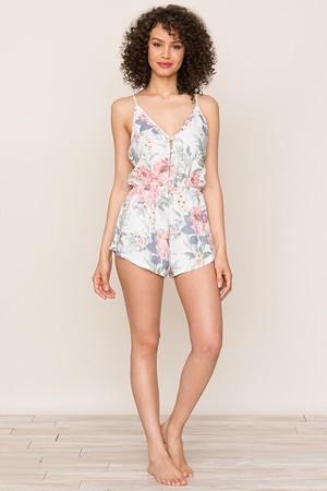 2e569e4d13b5 Yumi Kim Sugar And Spice Floral Pajama Romper