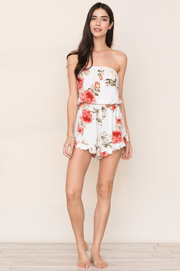 1aaacd4ef4 Glam Squad Floral Pajama Romper by Yumi Kim at ORCHARD MILE