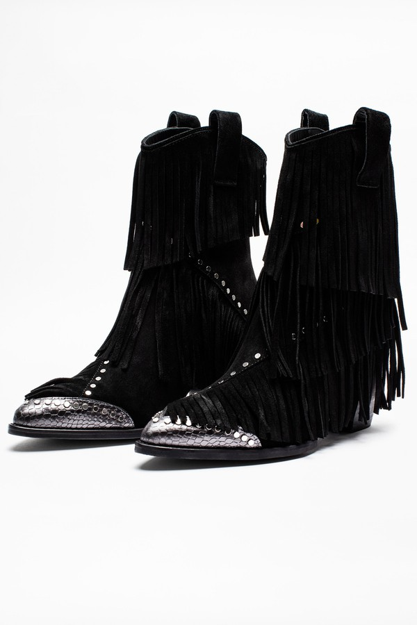 Cara Plus Franges Boots By Zadig Voltaire At Orchard Mile